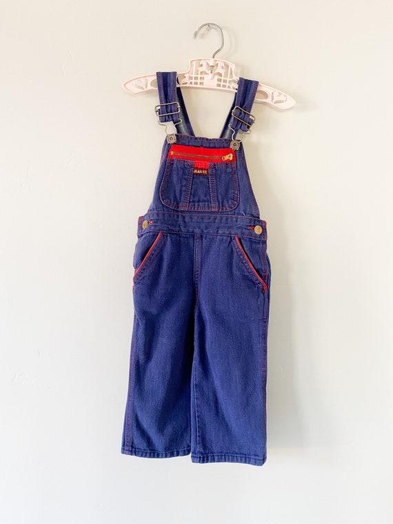 Denim Overalls 70s Vintage