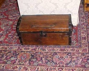 Antique Child's or Doll wooden Trunk NOW Discounted 195.00