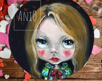 Miniature Painting Valentine by aniO