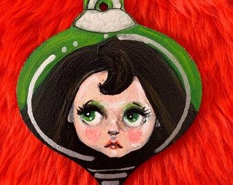 AniO's Christmas bauble - Miniature Paintings OOAK