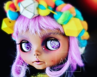 Lilac an art doll by aniO