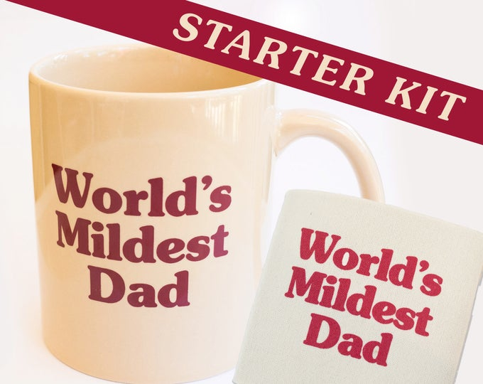 World's Mildest Dad Starter Kit