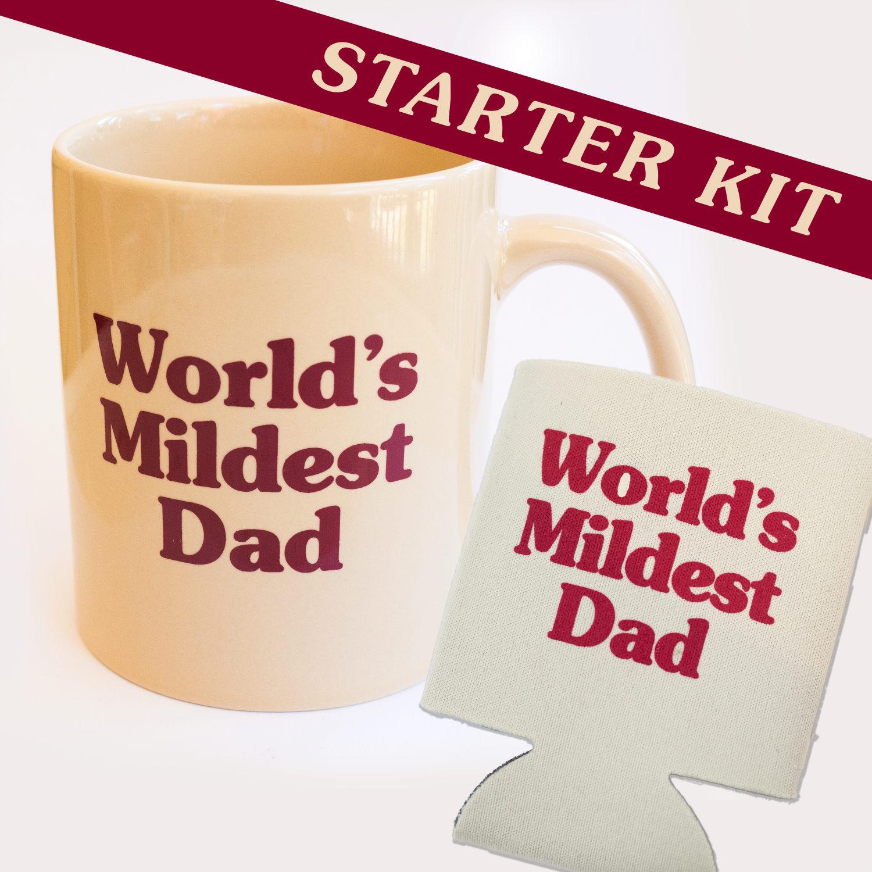 Worlds Mildest Dad Starter Kit