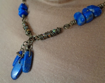 Lapis Nights Necklace