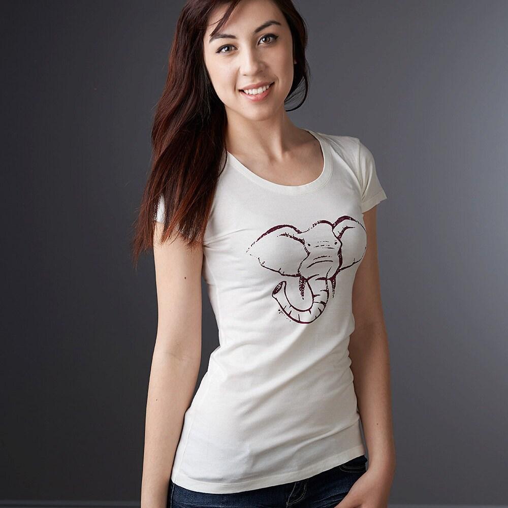 22c361650 Elephant T shirt Women's T-shirt Animal T shirts | Etsy