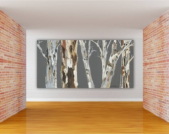 Oversized Extra Large Wall Art Canvas Print Tree Art Landscape Dining Room  Wall Art Huge Living Room Wall Art Bedroom Art Office Artwork