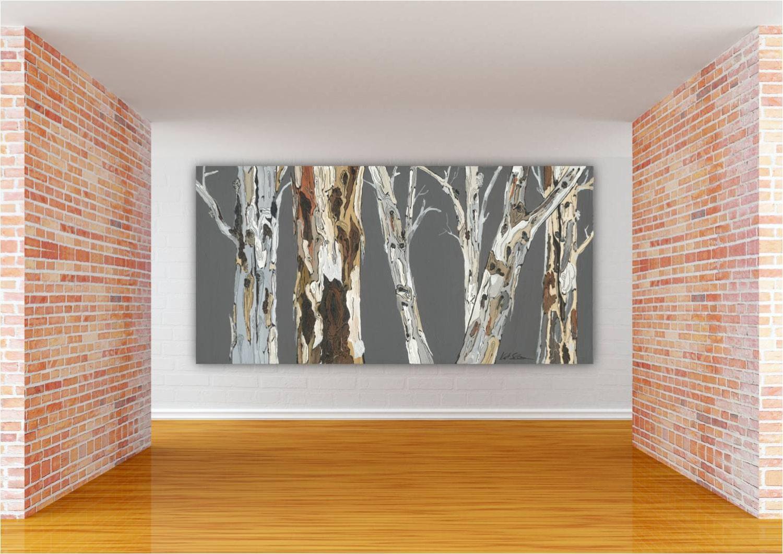 Oversized Extra LARGE Wall Art Landscape Print tree Art ...