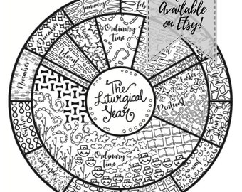 liturgical calendar printable resource