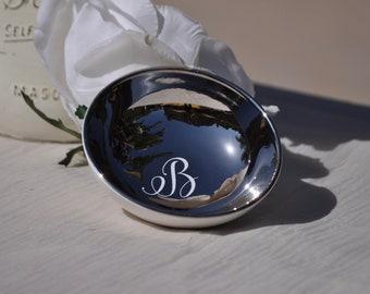 Personalized  Ring Dish~Ceramic~Bridal Gift~Bridesmaid Gift