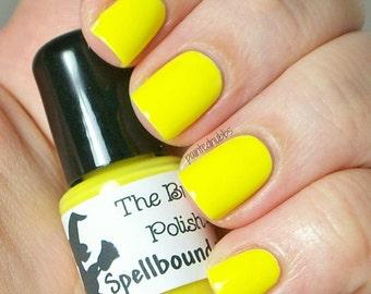 Lemon Icee - Neon Yellow Creme Nail Polish