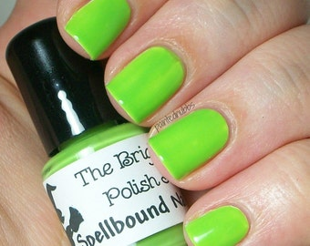 Not Your Granny's Apple - Bright Neon Green Creme Nail Polish