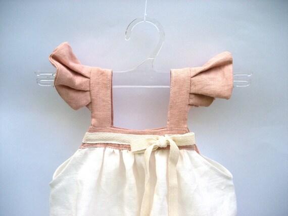 8284ab3c6 Dress Alice nice dress pink baby dress organic baby girl