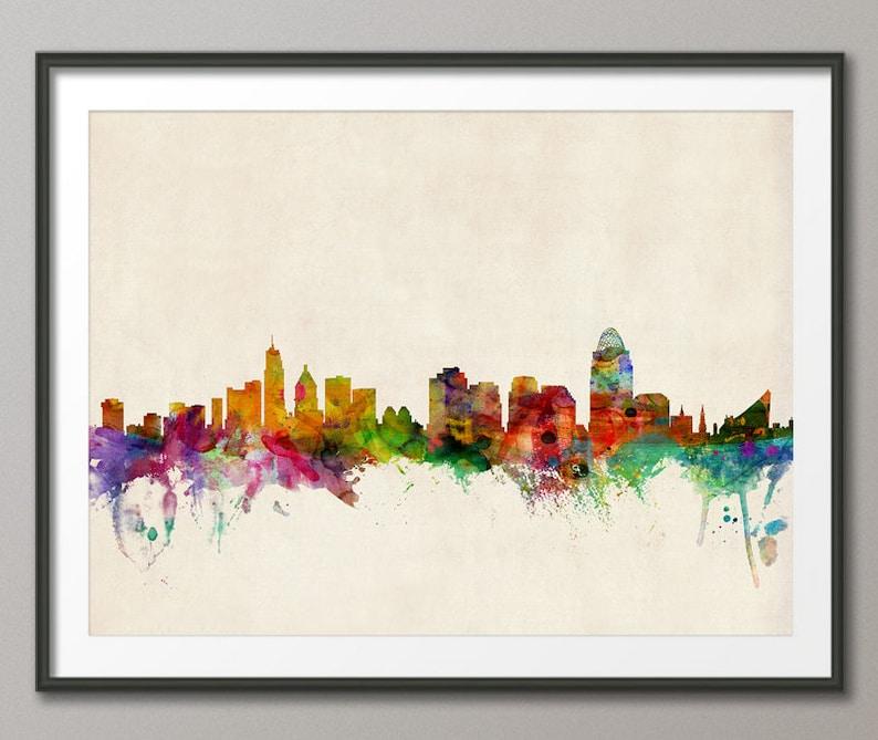Cincinnati Skyline Cincinnati Ohio Cityscape 533 image 0