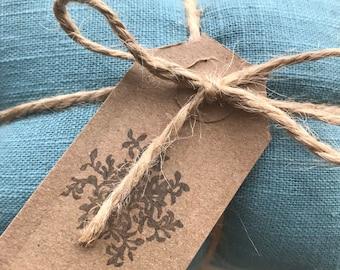 Lavender Drawer Sachets - Pure Linen - coastal tones