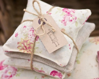 Lavender Drawer Sachets - Roses.