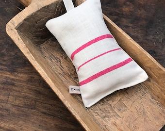 Lavender Sleep Pillow - Peony and Sage -Stripe