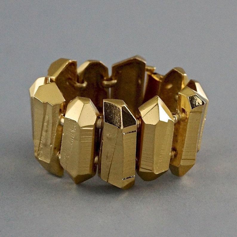 235db063141 Vintage YVES SAINT LAURENT Ysl by Robert Goossens Gilt Prism | Etsy
