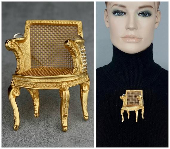 Vintage Massive KARL LAGERFELD Louis XVI Chair Bro