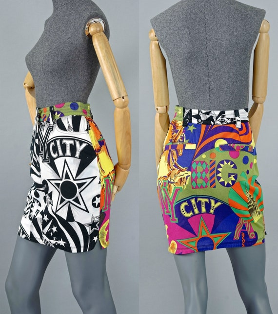 Vintage VERSACE JEANS COUTURE Manhattan New York C