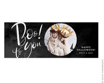 Halloween Facebook timeline cover - Photoshop template -  E1547