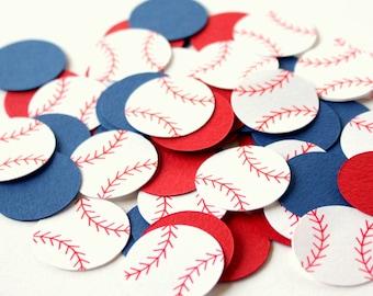 Baseball Confetti - Sports Themed Table Confetti - Baseball Theme Party Decorations - Baseball Decor Confetti - Baseball Birthday Confetti
