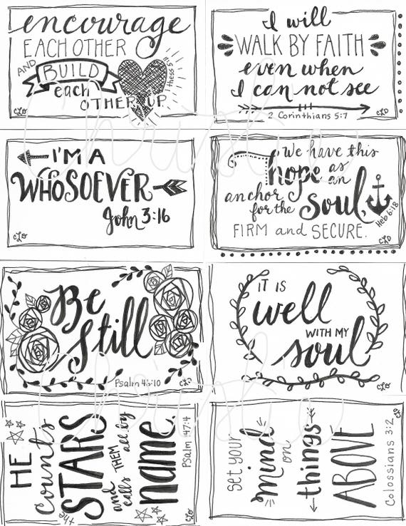 It's just a picture of Printable Scripture Cards pertaining to free printable