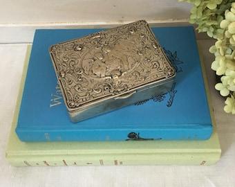 Sterling Silver Dresser Box