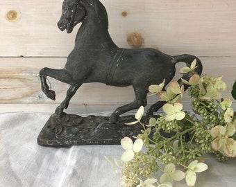 Cast Metal Horse