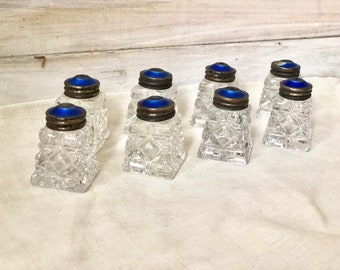 Salt and Pepper Shakers -  Set of 8