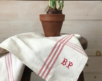 Antique French Hand Towel