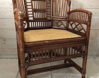 Vintage Rattan Chair LOCAL PICKUP ONLY