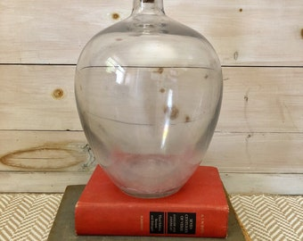 Large Glass Jar with Stopper
