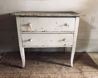 Two Drawer Table - LOCAL PICKUP ONLY