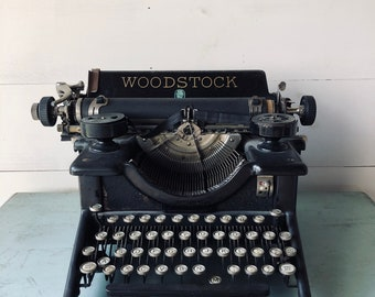 Antique Woodstock Typewriter