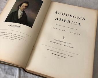 Vintage Audubon Book