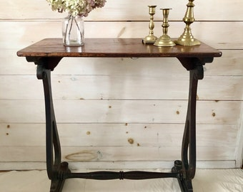 Antique Side Table - LOCAL PICKUP ONLY