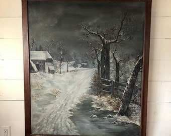 Winter Landscape - LOCAL PICKUP ONLY