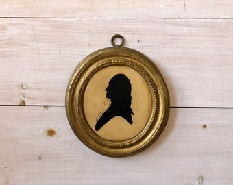 Vintage Silhouette of a Man