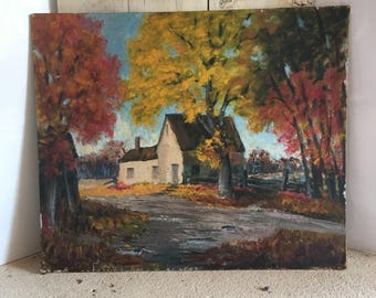 Fall Scene Painting