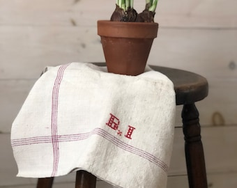 Antique French Hand Towel II