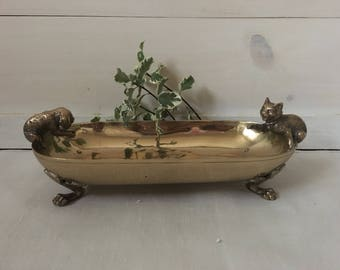 Antique Vienna Bronze Dish
