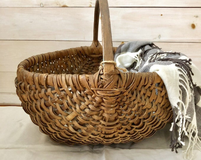 Featured listing image: Round Basket with Handle
