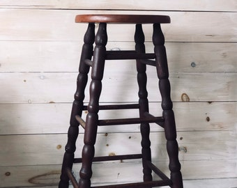 Vintage Spindle Stool