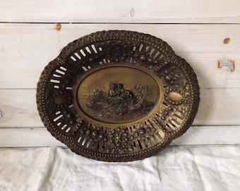 Vintage Decorative Tray