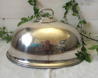 Large Silver Dome