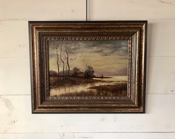 Landscape Painting - River Scene