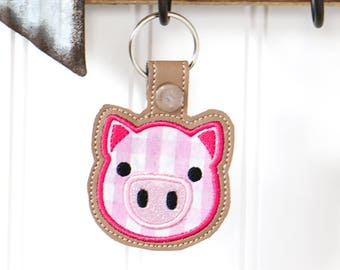 Pig Gifts - Key Rings - Pig Gifts for Girls - 4-H Pig - Key Chain - Pig  Gifts for Women - 4H Pig - Animal Keychain - Free Shipping - FFA 9e0d40e3c5