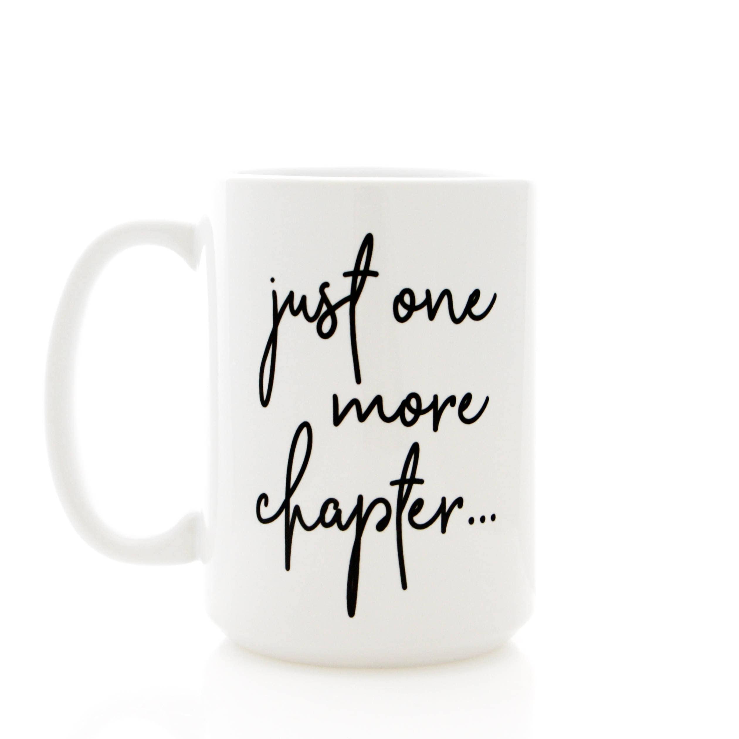 Bookworm Gifts Hot Tea Warm Blankets and Good Books Reading Coffee Mug Tea Cup