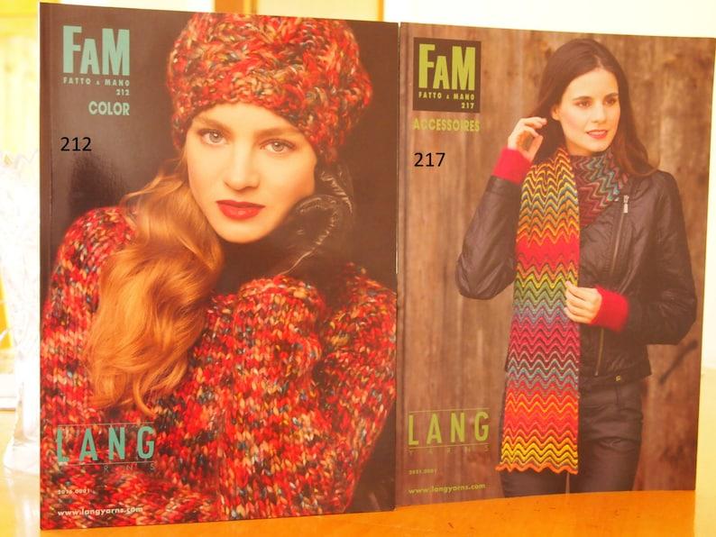 Art of Yarn. Lang Yarn Books of Patterns