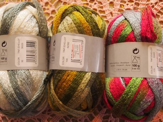 Katia Ondas And Ondas Lux Scarf Net Like Yarn With Free Etsy